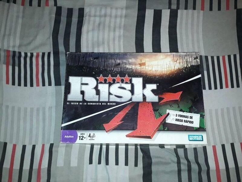 Risk juego de mesa - 1