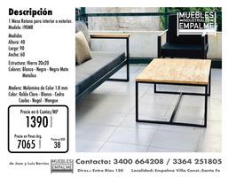 Mesa Ratona estilo industrial - Directo de fabrica - Imagen 3