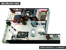 3 AMB AL FRENTE - EN POZO - 69m2 - Imagen 4