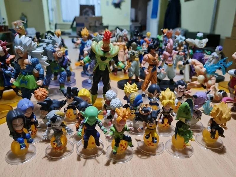 Coleccion de 84 muñecos De Dragon Ball Z - 1