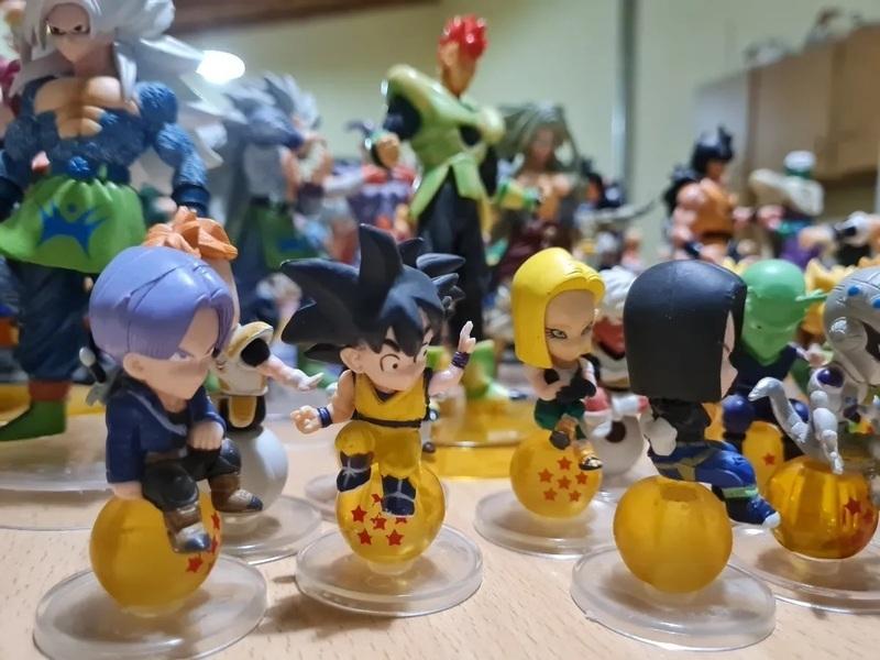 Coleccion de 84 muñecos De Dragon Ball Z - 2