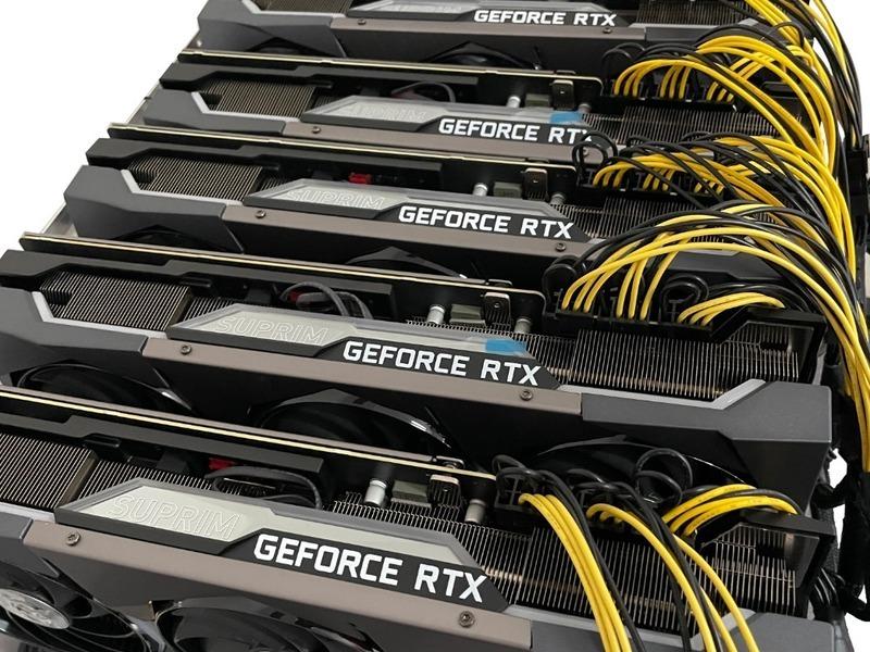 Rig Minería Cripto 6 GPU x RTX 3070 - 2