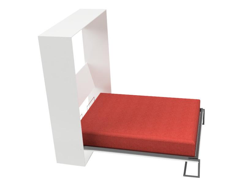 Cama rebatible vertical 2 plazas. - 3
