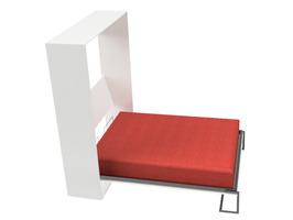 Cama rebatible vertical 2 plazas. - Imagen 3
