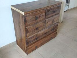 Cómoda aparador madera maciza (pino). - Imagen 3