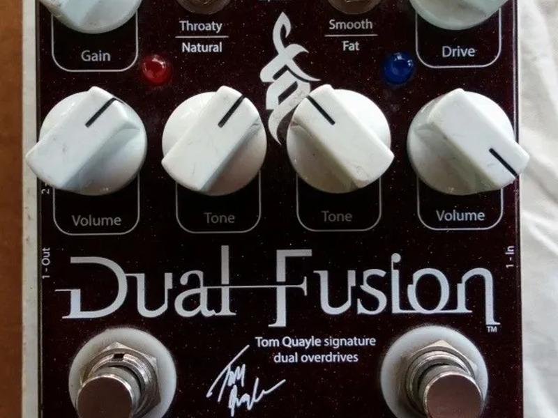 Pedal de guitarra Wampler Dual Fusion - 1