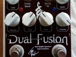 Pedal de guitarra Wampler Dual Fusion - Imagen 1