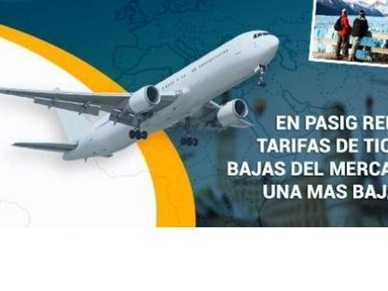 Pasajes Aereos Internacionales - 1