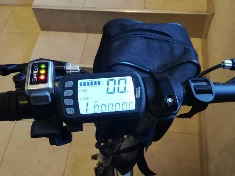 Bicicleta electrica plegable - 2