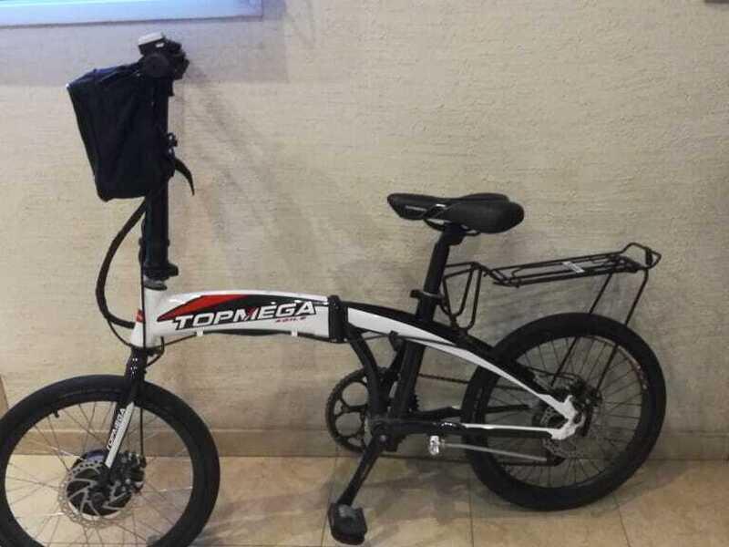 Bicicleta electrica plegable - 6