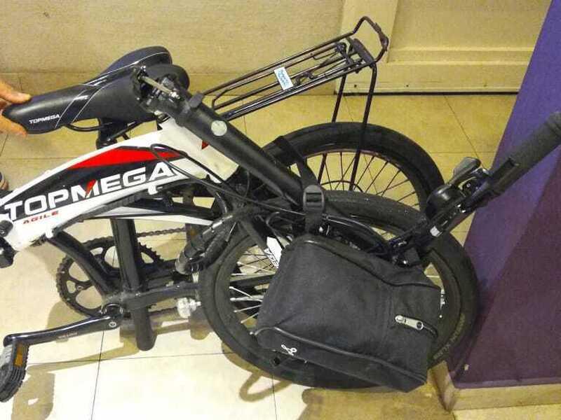 Bicicleta electrica plegable - 9