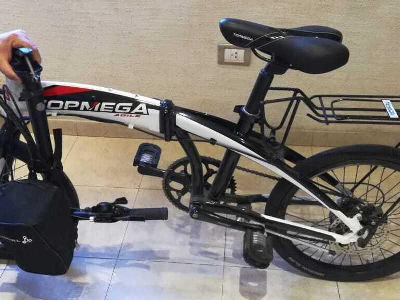 Bicicleta electrica plegable - 10