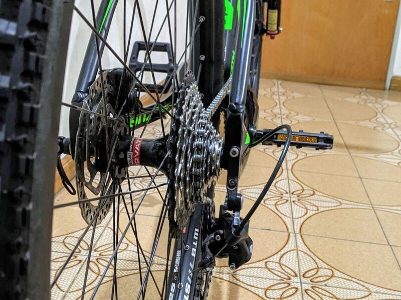 Bicicleta mtb venzo zeth practicamemte 0km - 6