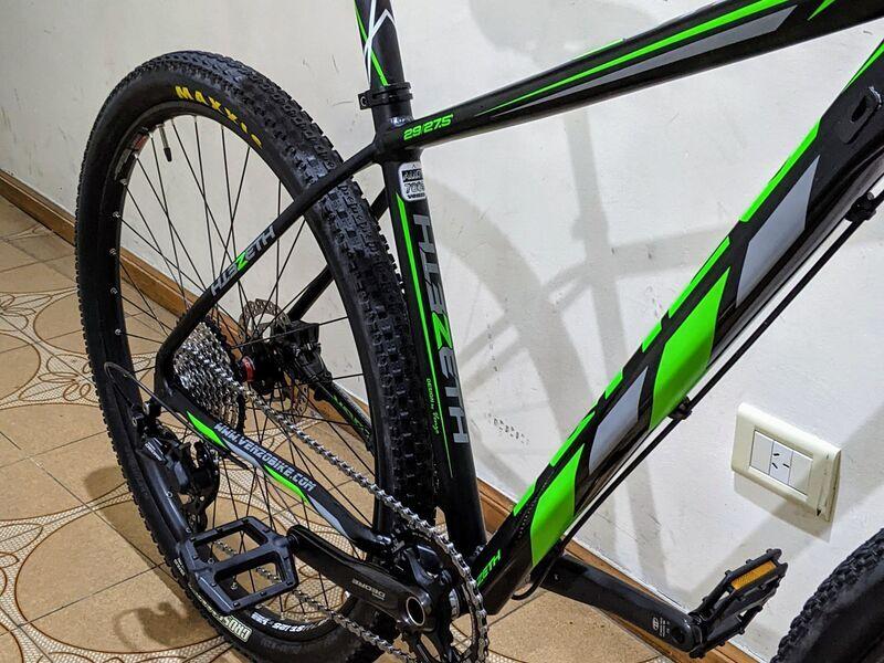 Bicicleta mtb venzo zeth practicamemte 0km - 8