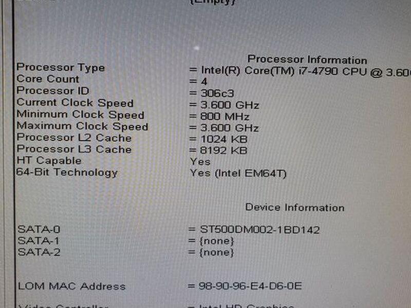 Cpu Dell Optiplex 9020 - 4