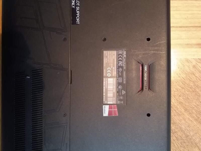 Vendo Laptop Asus ROG GL752VW-DH71 - 4