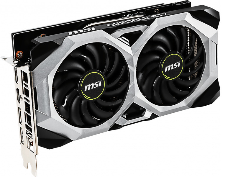 Placa de Video MSI Nvidia Geforce RTX 2060 Ventus - 2