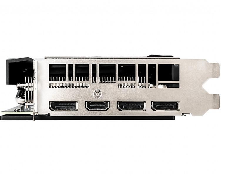 Placa de Video MSI Nvidia Geforce RTX 2060 Ventus - 4