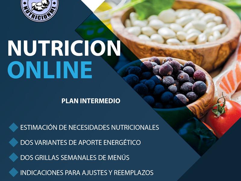 Plan de alimentación intermedio - 1