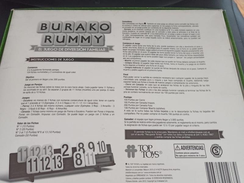 Se venden Juegos de mesa Monopolio y Rummy - 2