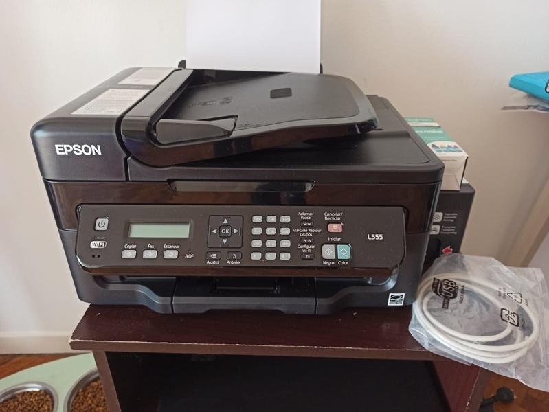Vendo impresora Epson ECOTANK L555 - 5