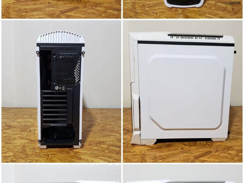 Gabinete Gamer Thermaltake Versa N21 Snow - 1