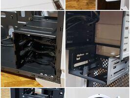 Gabinete Gamer Thermaltake Versa N21 Snow - Imagen 2
