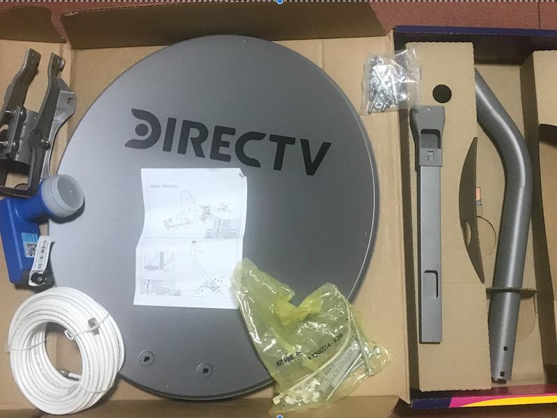 Antena (0,46) de DirecTV - 1