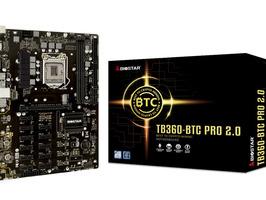 Motherboard BIOSTAR TB360-BTC PRO 2.0 Para Minería - Imagen 1