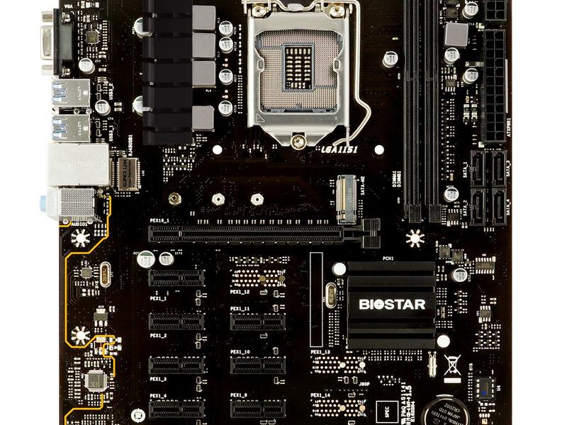 Motherboard BIOSTAR TB360-BTC PRO 2.0 Para Minería - 3
