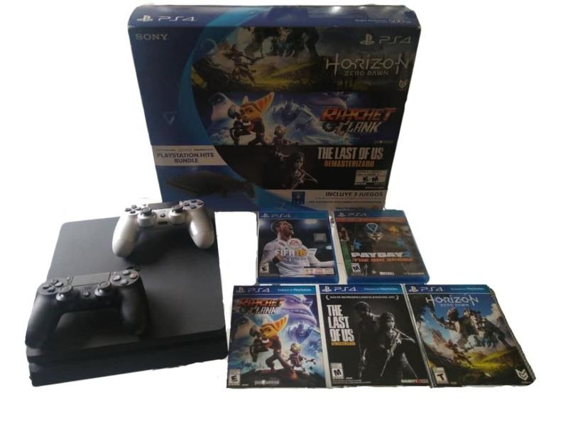 "PS4 ""PlayStation Hits Bundle"" 500GB - 2 Joystick - 3"