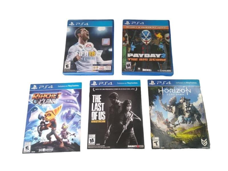 "PS4 ""PlayStation Hits Bundle"" 500GB - 2 Joystick - 4"