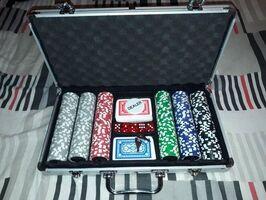 Poker 300 Fichas 11gr Numeradas Malet Alum dados - Imagen 1
