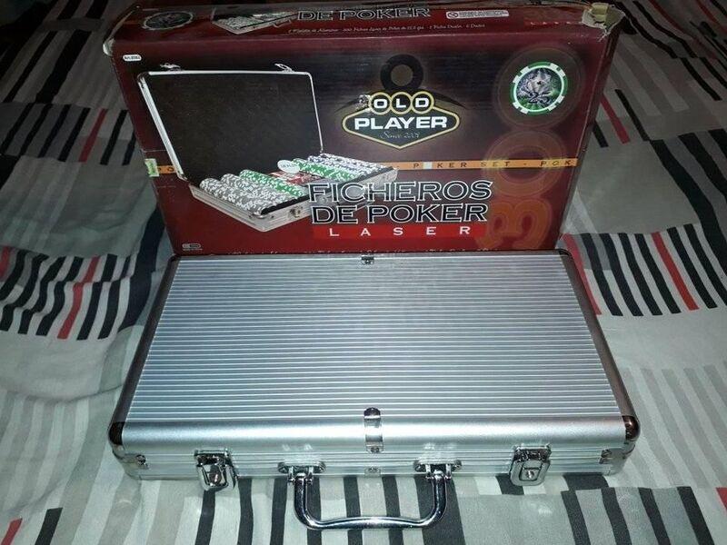Poker 300 Fichas 11gr Numeradas Malet Alum dados - 2