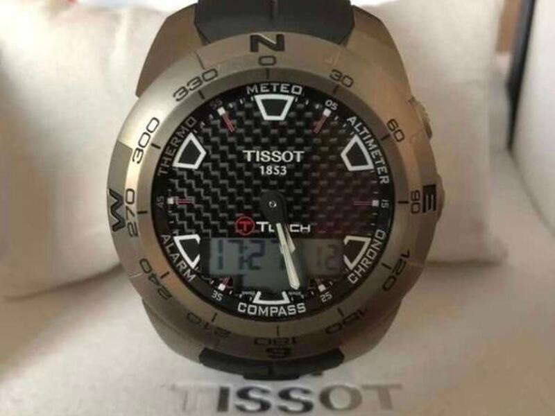 Reloj Tissot T-touch Expert 013.420.47.201.00 - 1
