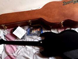 Guitarra Gibson SG Standard Ebony 2018 - Imagen 5