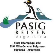 Pasig Reisen Argentina